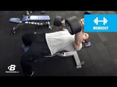 Bodybuilding.com: Fast-Paced Chest Workout | 30 Days Out | Day 1