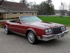 1983 Buick Riviera Convertible Maintenance/restoration of old/vintage vehicles: the material for new cogs/casters/gears/pads could be cast polyamide which I (Cast polyamide) can produce. My contact: tatjana.alic@windowslive.com