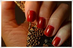 OPI Vodka + Max Factor Fantasy Fire