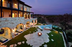Built for fun and relaxation, these incredible pools and decks take outdoor entertaining to the next level. Take a break and browse through these impeccably designed backyard retreats.