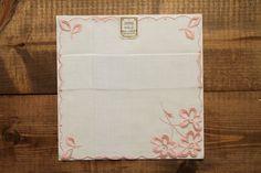 Vintage Handkerchief Floral Handkerchief Vintage Handkerchiefs All Vintage Swiss Made Handkerchiefs Hanker-chief by Yebisu on Etsy