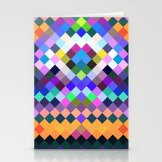 Pixelate Stationery Cards by Fine2art - $12.00