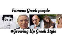 Greek  famous people