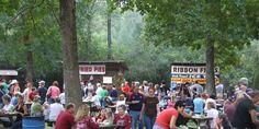 Homestead Hollow. Springville, Alabama Harvest Festival   road ...