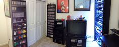 Video Game Room Panorama via Reddit user background_spider