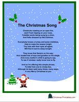 printable joy to the world christmas carol lyrics   Free Christmas Printables, Christmas Game ...