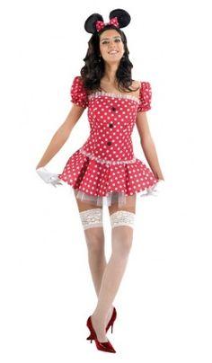Femmes: Vêtements Dedicated Déguisement Pour Adultes Th3 Party 9395 Costume De Souris Sexy