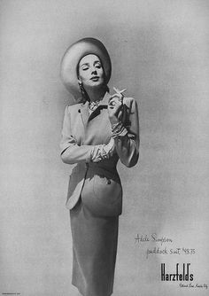 February Harper's Bazaar 1947