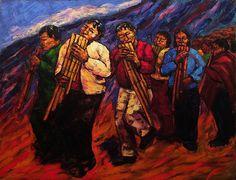 Post: Fuerza telúrica en la pintura de Fanny Palacios