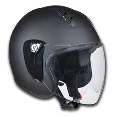 Motorrad Sturzhelm Motorradhelm Rollerhelm L schwarz: Amazon.de: Drogerie & Körperpflege