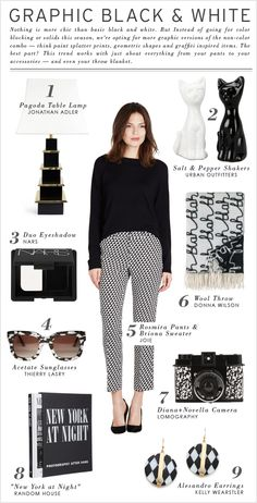 Joie Shopper: Graphic Black & White >> click to read the full post.