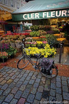 Cler Fleurs, Ile de France, Paris this was the flower shop near my hotel on the Rue Cler! AHHH! so amazing!
