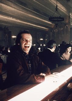 Jack Nicholson as Jack Torrance in The Shining(1980)