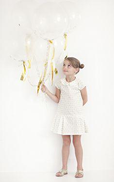 Love this Marron girls dress sewing pattern