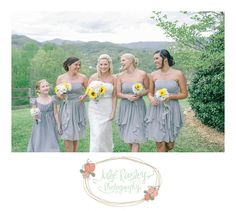 Creative Bridesmaids Dresses | Gray mountain wedding | Wedding Style | Julie Paisley Blog | Julie Paisley Photography www.juliepaisley.com