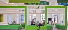 Dividers and acoustic panels - Nokia Office - by Gensler