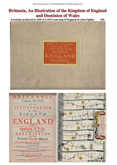 Brittania, An Illustration of the Kingdom of England and Dominion of Wales (facsimile) John Ogilby