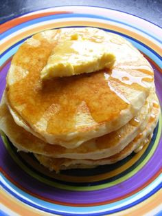 Make and share this Martha's Perfect Pancakes recipe from Food.com.
