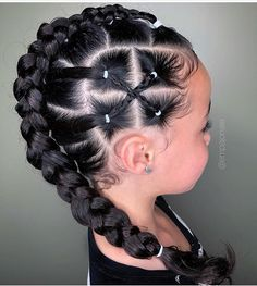 50 Easy Hairstyles For Black Women Baby Girl Hairstyles Black easy hairstyles women Lil Girl Hairstyles, Kids Braided Hairstyles, Box Braids Hairstyles, Mixed Kids Hairstyles, Black Girl Natural Hairstyles, Hairstyles For Black Kids, Choppy Hairstyles, Toddler Hairstyles, Princess Hairstyles