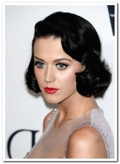 1950s hairstyles Katy Perry