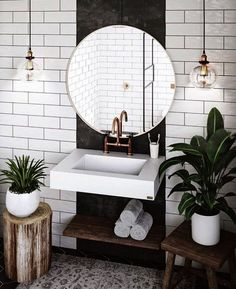 Außergewöhnliche weiße Badezimmerideen Home Design - home decor diy Exceptional white bathroom ideas home design ideas Budget Bathroom, Bathroom Themes, Decor, Bedroom Design, House Design, Bathroom Inspiration, Home Decor, House Interior, Bathroom Design