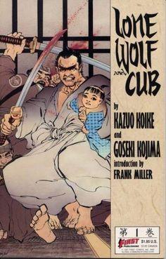 . Comic Books For Sale, Comics For Sale, Lone Wolf And Cub, Samurai Jack, Frank Miller, Comic Book Covers, Comic Book Characters, Dark Horse, Comic Artist