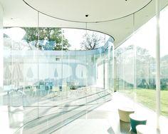 Sanaa | Glass Pavilion Einsatz Glas