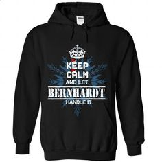 Keep calm and let BERNHARDT handle it 2016 - #button up shirt #cool tee. ORDER HERE => https://www.sunfrog.com//Keep-calm-and-let-BERNHARDT-handle-it-2016-2233-Black-Hoodie.html?68278