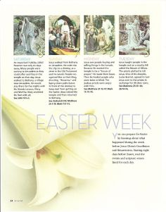 Happy Clean Living: Easter Week Activity