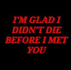 In my case . . ....... . .. .......... .. ..Bahahaha.. . .