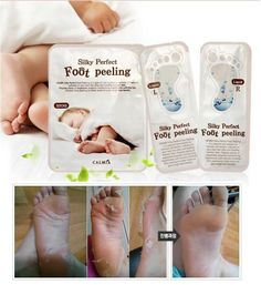 Baby Foot care Easy Pack Deep Skin Exfoliation Peeling Remove Dead Calluses