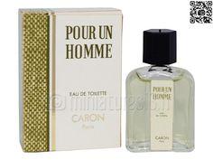 Miniature Pour un homme (Eau de toilette 4.5ml), Caron - © www.miniatures13.fr