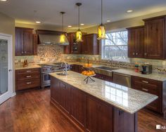 Knotty Alder Cabinets Design, Pictures, Remodel, Decor and Ideas