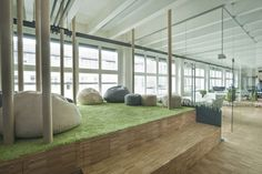 Take a Look at Impact Hub's Prague Coworking Space | Officelovin