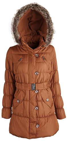 Men's Brown Bubble Coat Size Large | Products | Pinterest | Coats ...