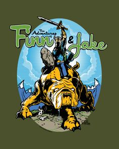 The Adventures of Finn  amp  Jake t-Shirt ~  10 Adventure Time tee at 0f12b13da