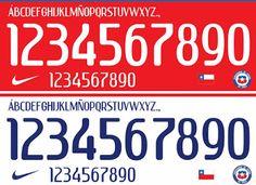 Diseños, vectores y más: Selección chilena 2015 tipografía