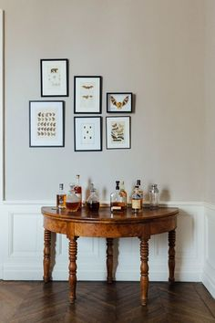 Side Table. Interiors of the home of food writer Mimi Thorisson - which she shares with husband, 7 children and 9 dogs. Interior design inspiration from real homes on House & Garden.