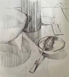 #sketchbook by Sarah Sedwick. June 2016. #drawing #sketch