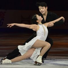Maia and Alex Shibutani. Ice Dancing, I will be watching out for these guys in the next Winter Olympics!