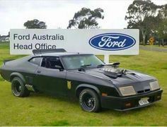 Mad Max Ford Falcon Coup