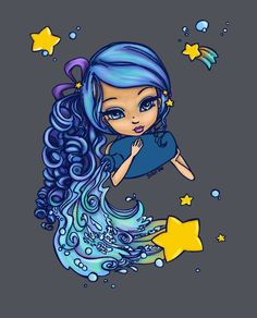 Aquarius by ShyniMoonStar.deviantart.com on @DeviantArt