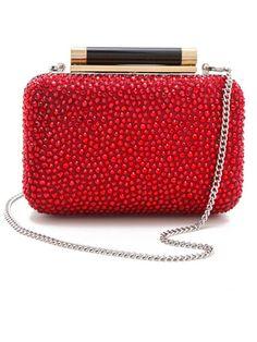 Diane von Fursteberg clutch - Best Holiday Accessories 2012