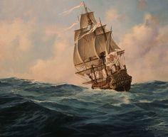neoprusiano:Fragata española, 1700Augusto Ferrer-Dalmau: