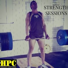 This #sunday is the first of our new #strength #training sessions at #HPF. Kicking off at 9am with a testing session for anyone keen to know their 1RM. We will be cranking up the #music and busting out some big arse lifts! #gym #brisbane #fitness #abs #powerlifting Text 0406 963 566 to reserve your spot