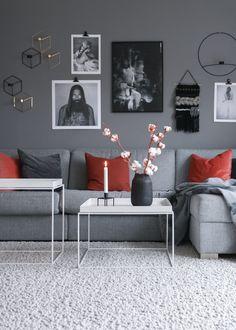 Endringer på stueveggen og noen gode tips • HVITELINJER BLOGG -    #interior #interiør #interiordesign #interiors #scandinavian #moderninteriordesign #livingroom