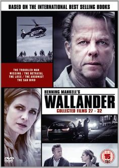 Wallander Collected Films 27-32 (The Final Season) [DVD]   The latest and last series of Wallander starring Krister Henriksson