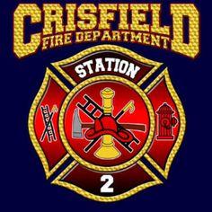 Crisfield Fire Department Logo