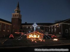 Nativity scene, North Virginia | Books, Cupcakes, and Cats Chasing Chipmunks