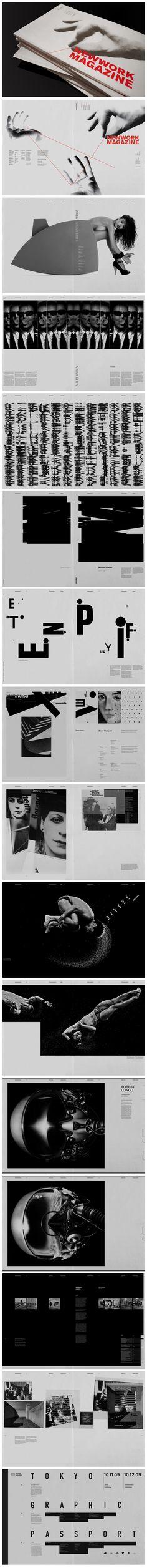 NEWWORK MAGAZINE – nº 4 Proposta visual interessante, bem clean e com uma direção de arte fotográfica bem artística